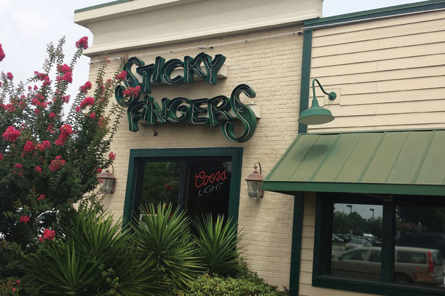 Sticky Fingers Ribhouse (Summerville)
