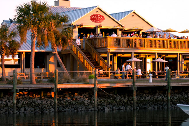 Waterfront Seafood Restaurants Charleston Sc