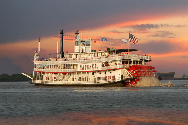 Steamboat Natchez New Orleans La New Orleans