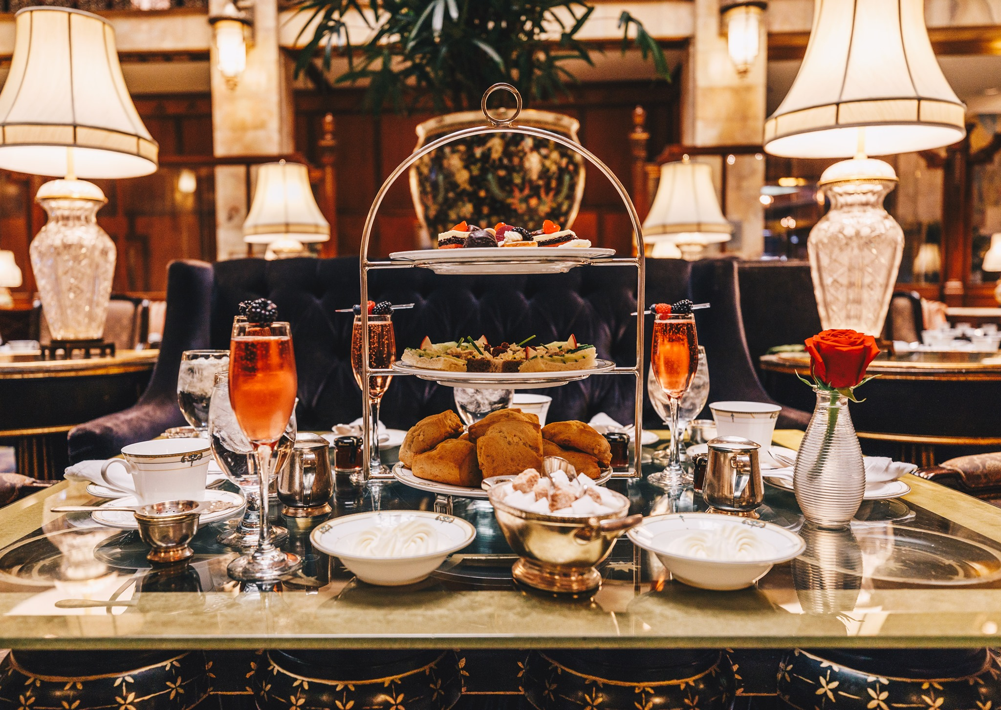 Afternoon Tea at the Brown Palace