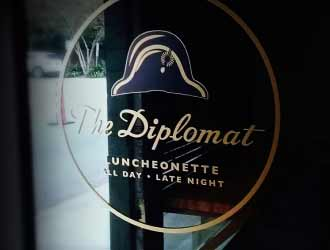 The Diplomat Luncheonette Catering
