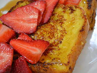 Crème Brule French Toast