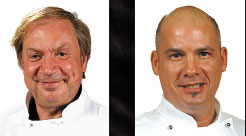 Executive Chefs Thierry P. Burkle & Tomme Johnson